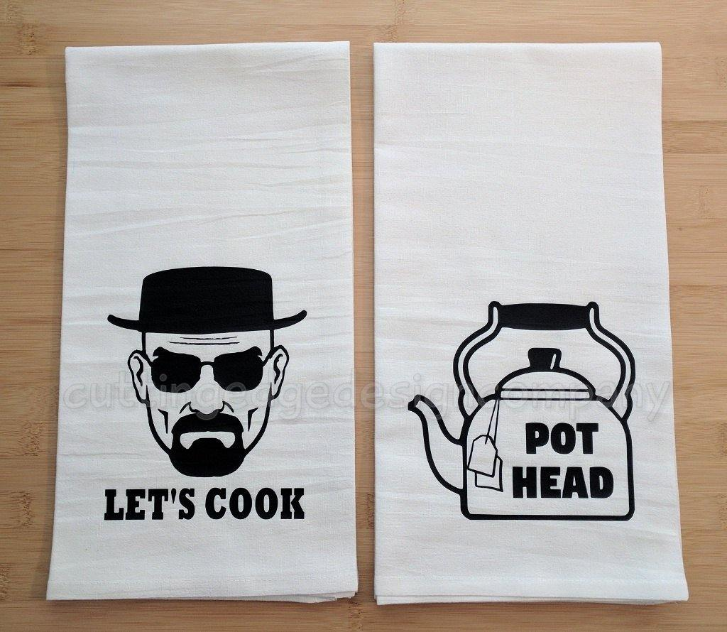 Pot Head Flour Sack Towel