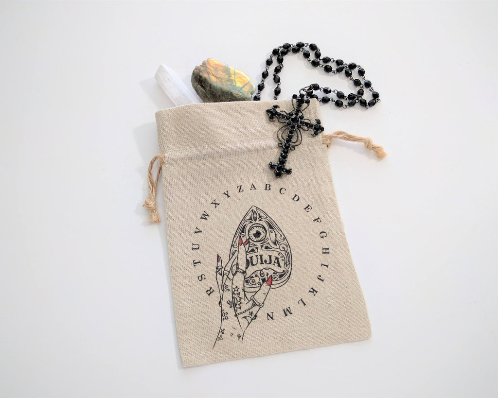 Spirit Board Hand Planchette Tarot Deck Bag Card Deck Bag