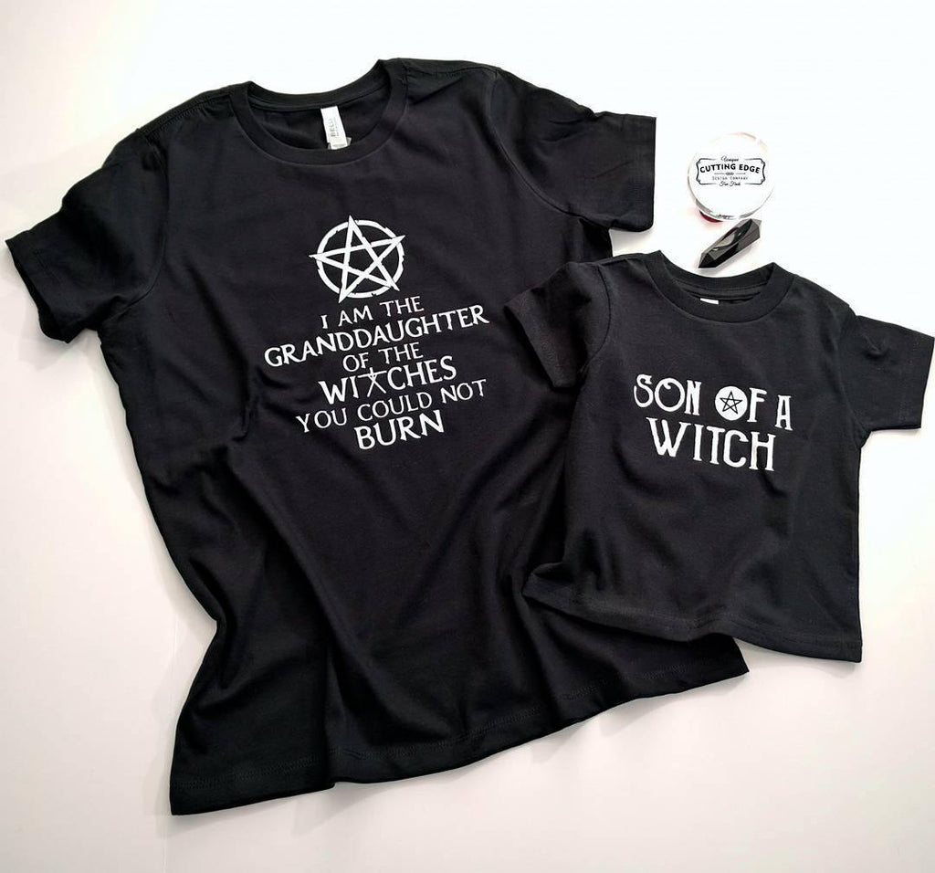 I am the Granddaughter of the Witches You Could Not Burn Pentacle Tshirt
