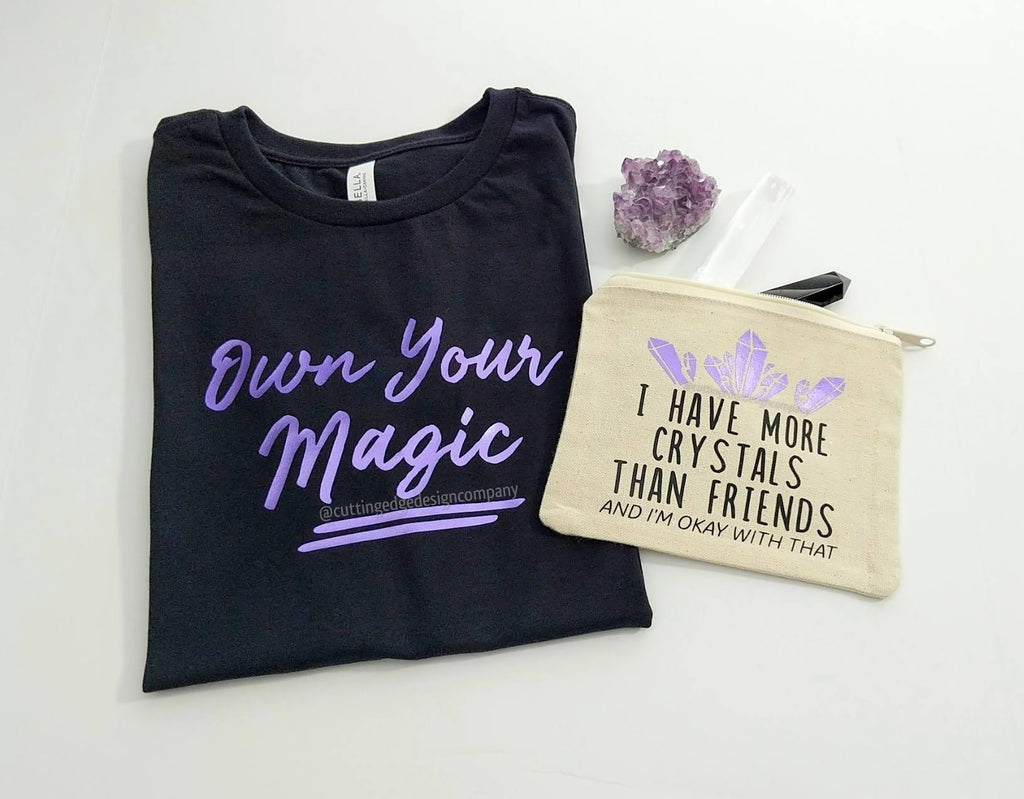 Own Your Magic (Purple Design) T-Shirt