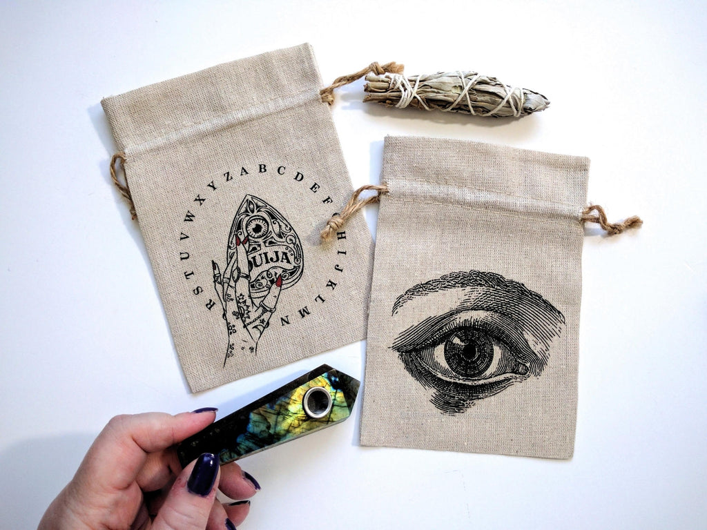 Eye Design Tarot Deck Bag