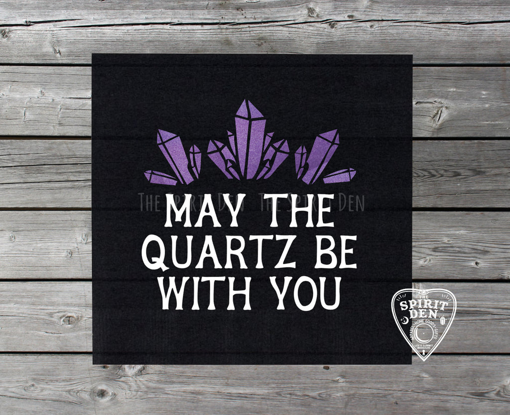 May The Quartz Be With You Altar Cloth