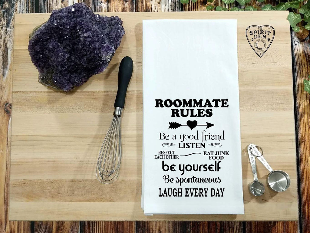 Roommate Rules Flour Sack Towel