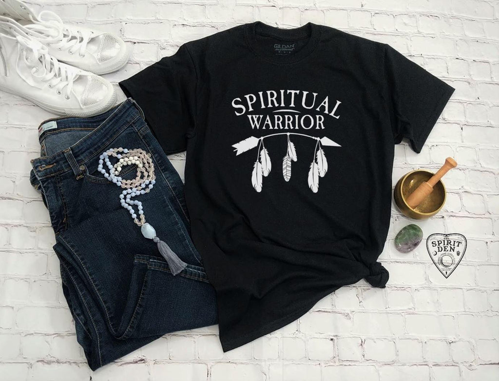 Spiritual Warrior T-Shirt Extended Sizes