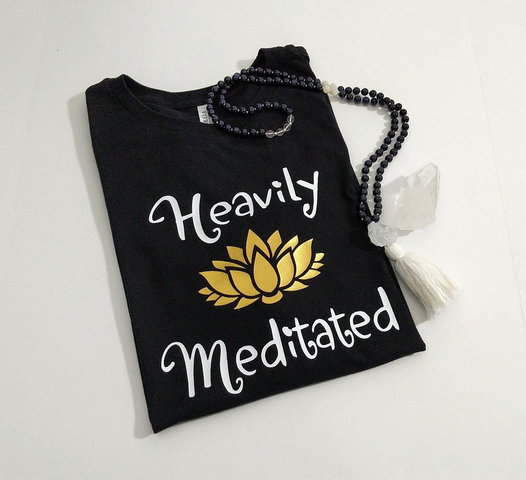 Heavily Meditated Lotus T-Shirt