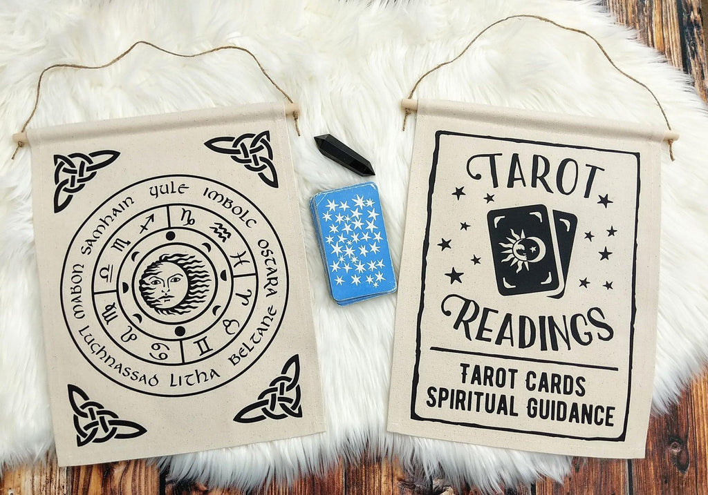 Tarot Readings Tarot Cards Spiritual Guidance Canvas Wall Banner