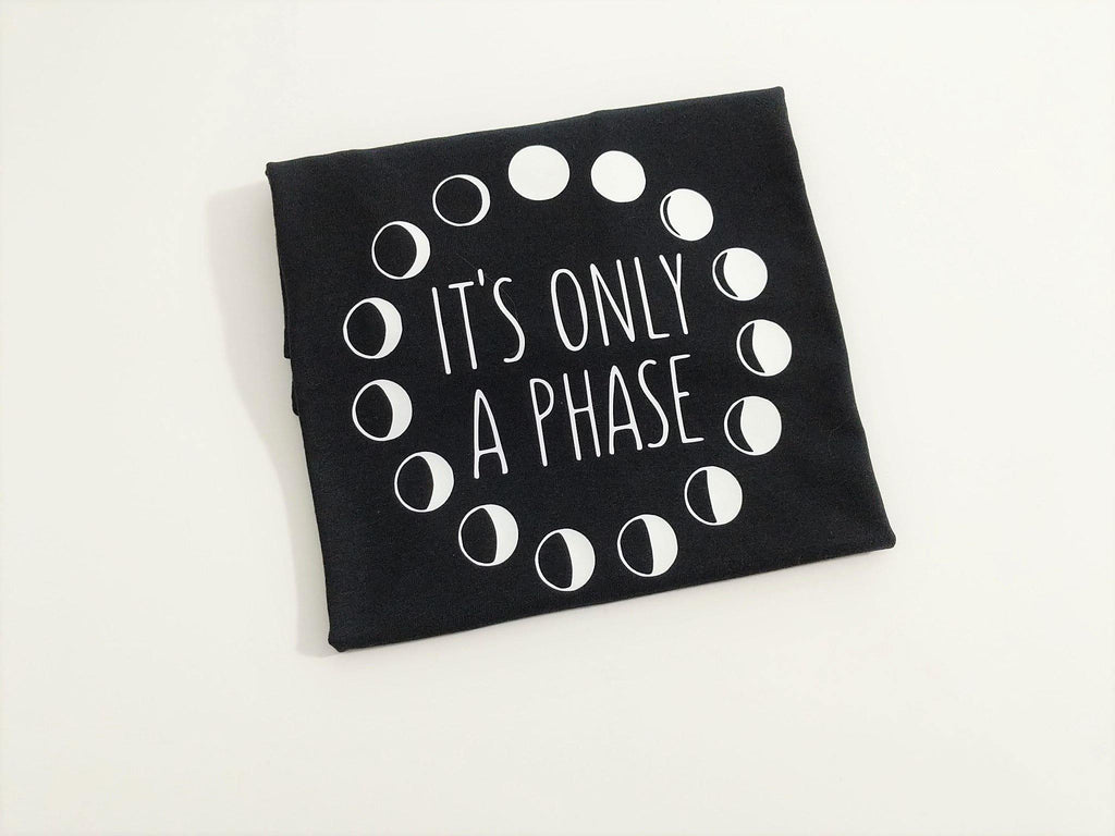 It's Only A Phase Moon Phases T-Shirt