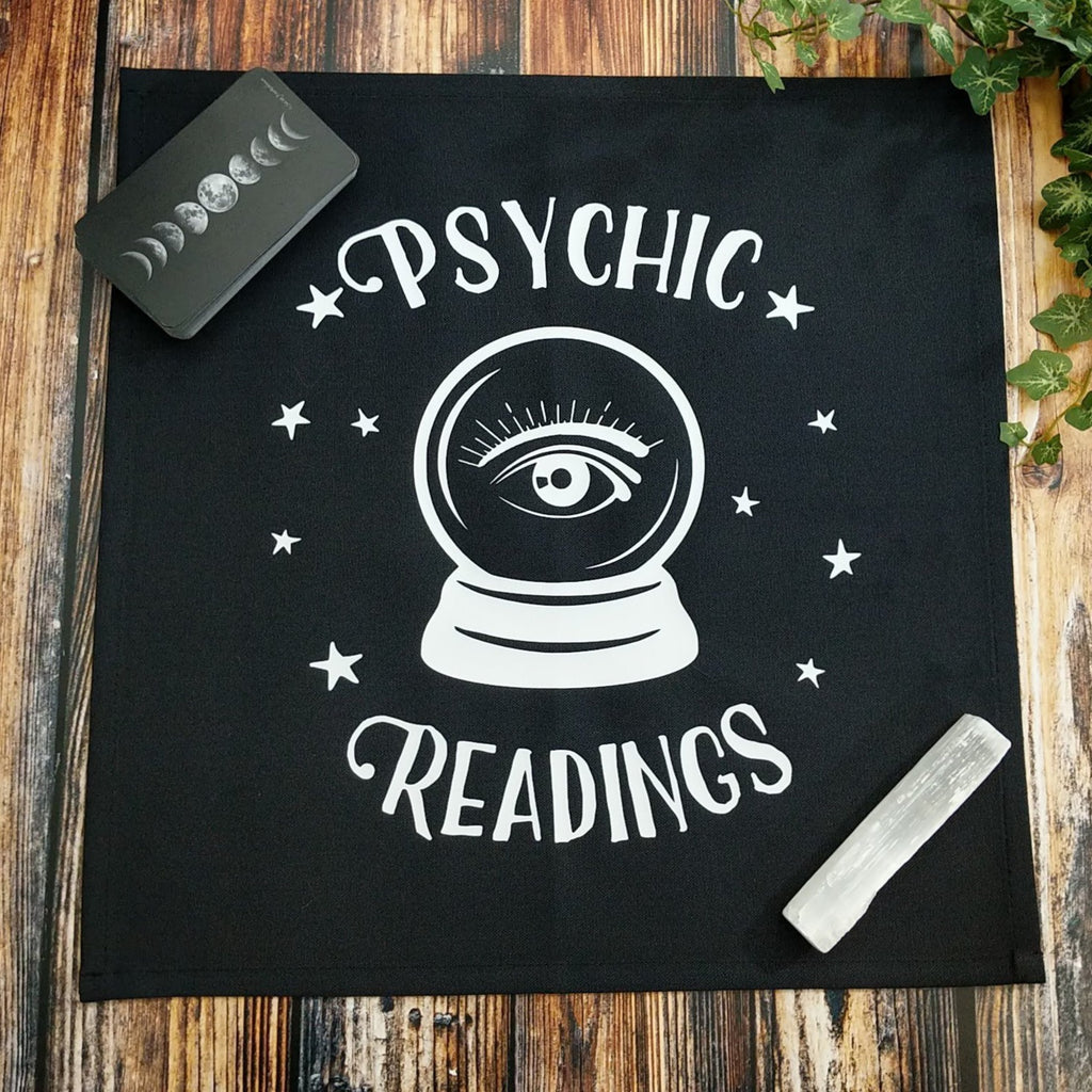 Psychic Readings Crystal Ball Altar Cloth