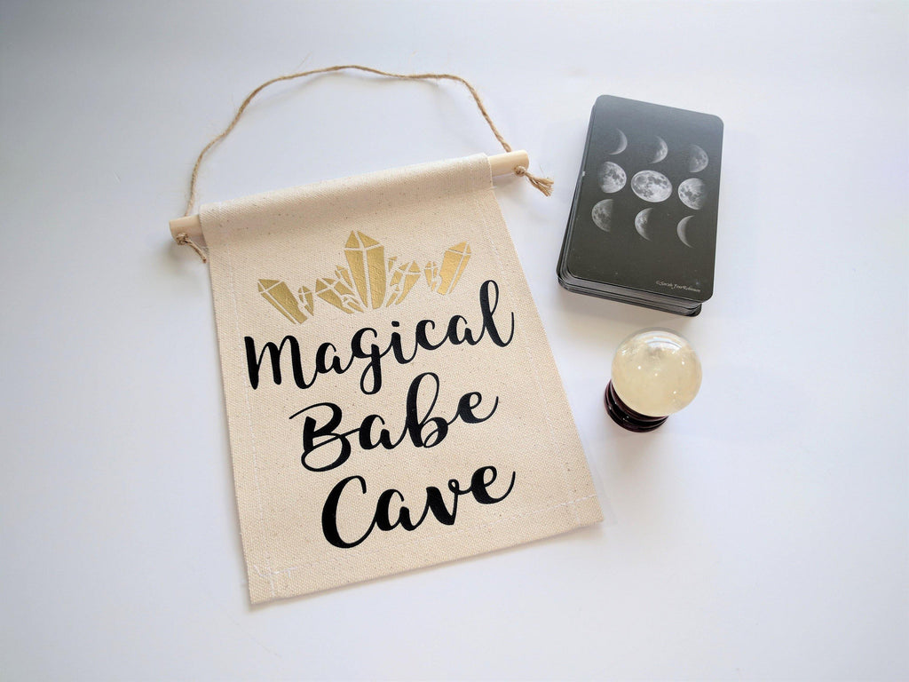 Magical Babe Cave  Canvas Wall Banner