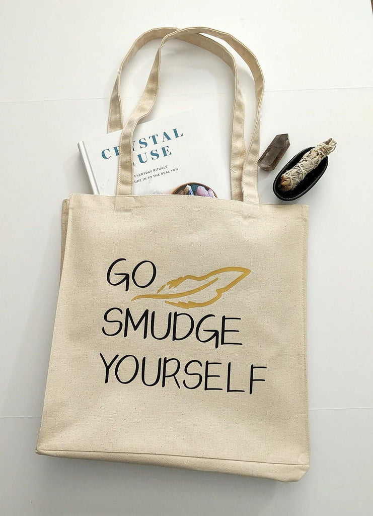 Go Smudge Yourself Cotton Canvas Market Bag