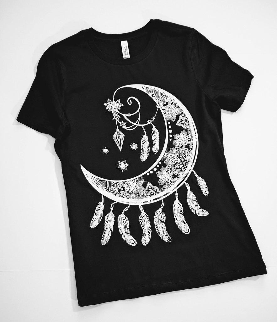 Crescent Moon Catcher T-Shirt