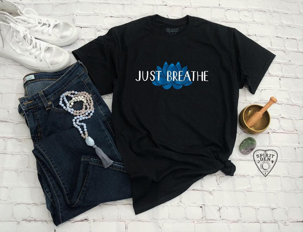 Just Breathe Lotus T-Shirt