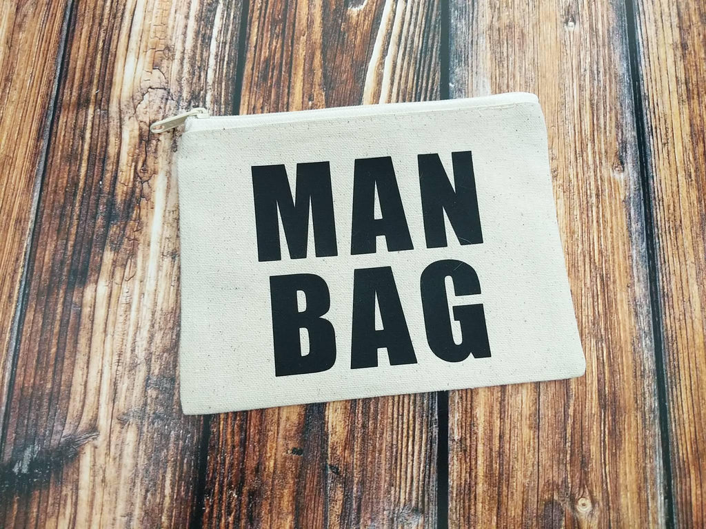 Man Bag Canvas Zipper Bag