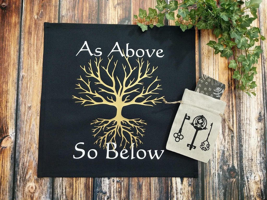 As Above So Below Altar Cloth