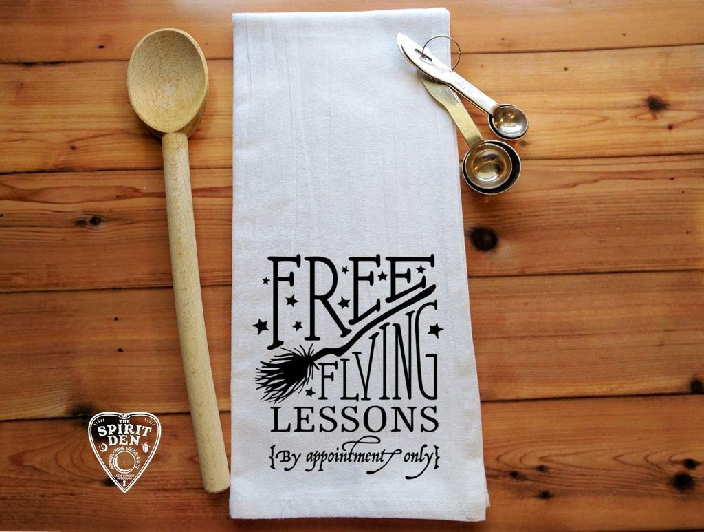 Free Flying Lessons Flour Sack Towel