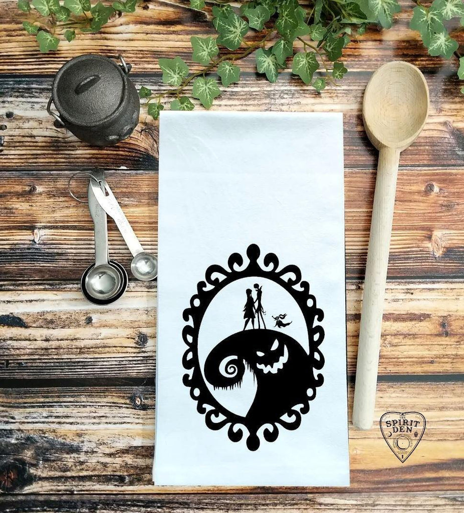 The Nightmare Before Christmas Flour Sack Towel
