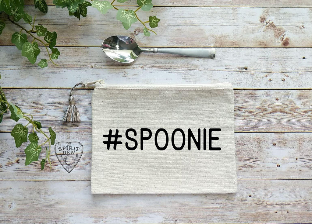 Spoonie Canvas Zipper Bag