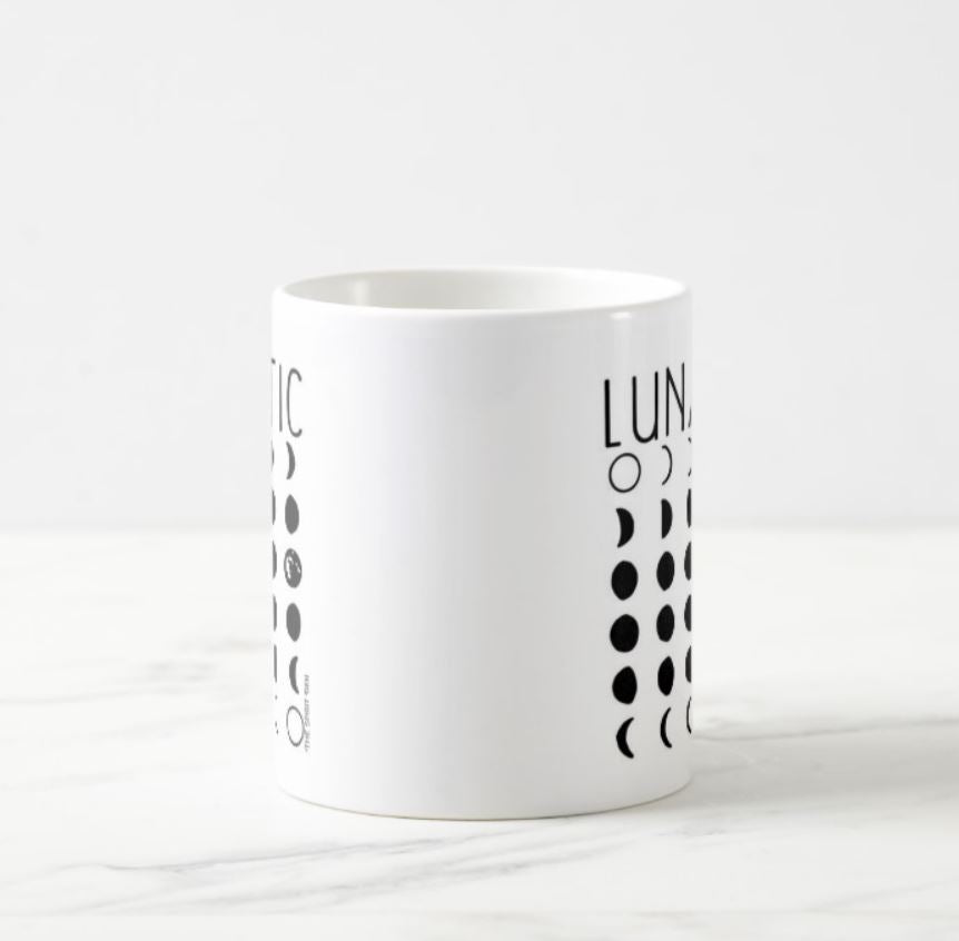 Lunatic Moon Phases Mug