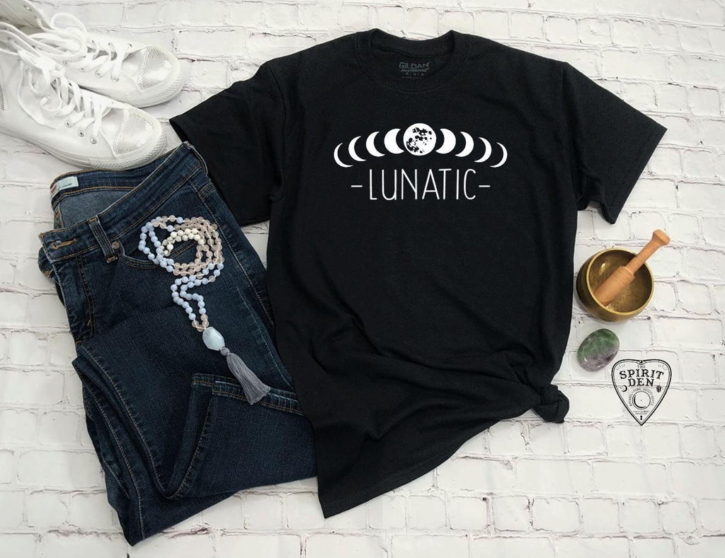 Moon Phase Lunatic T-Shirt