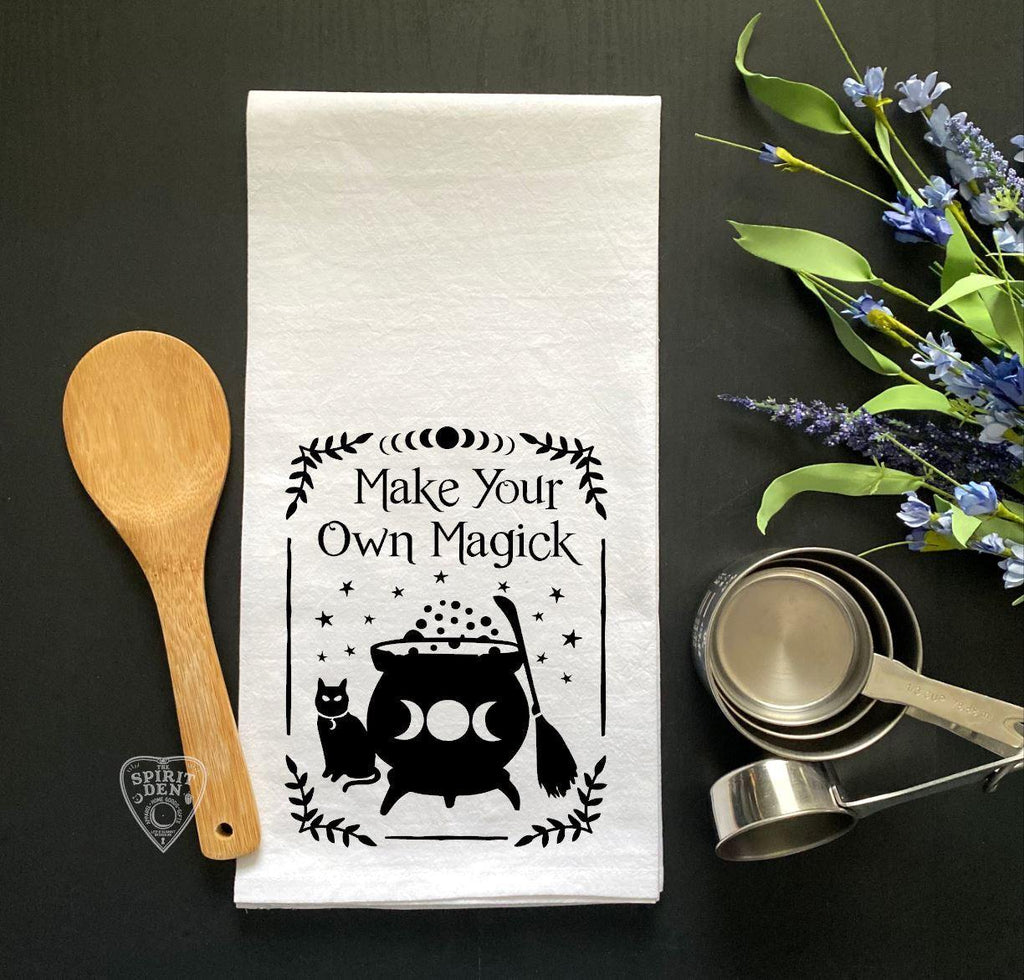 Make Your Own Magick Flour Sack Towel