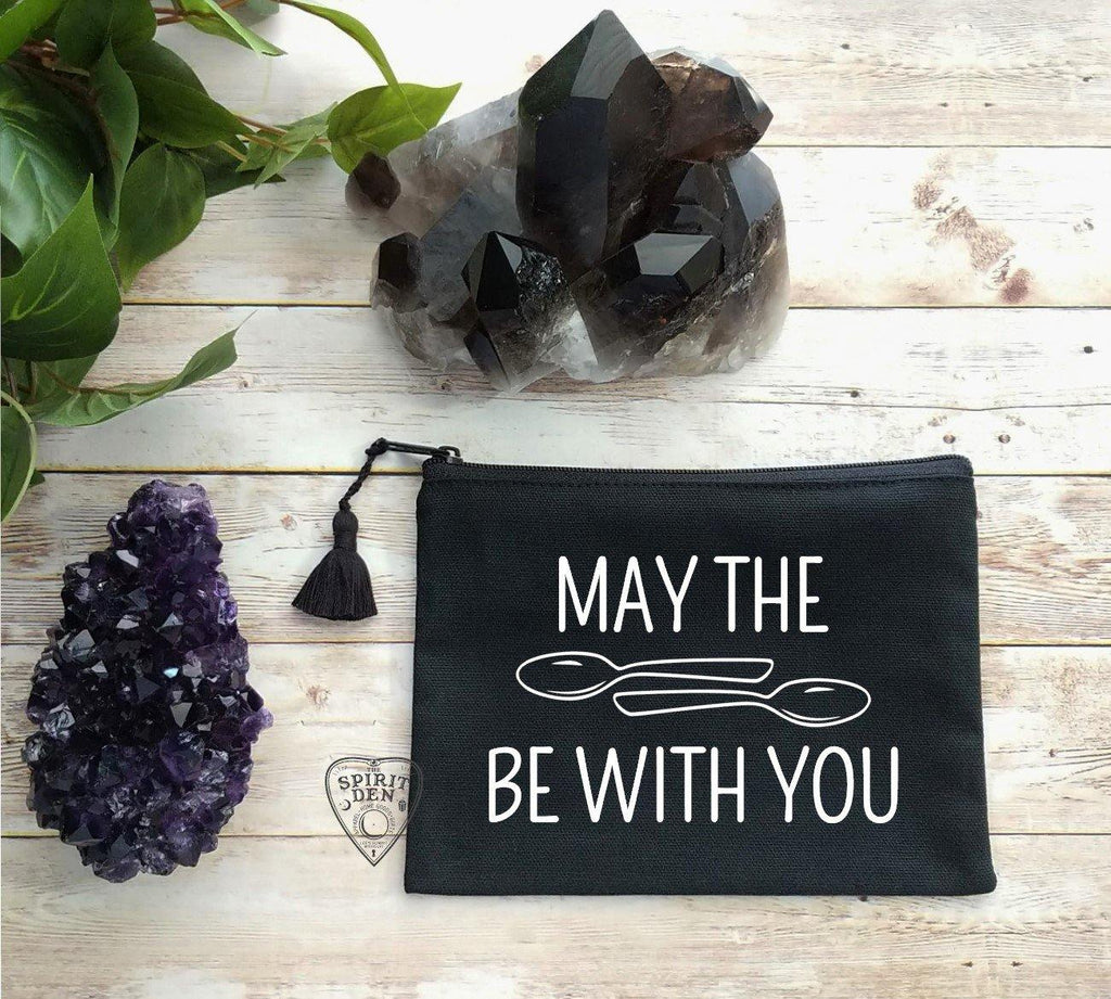 May The Spoons Be With You Canvas Zipper Bag