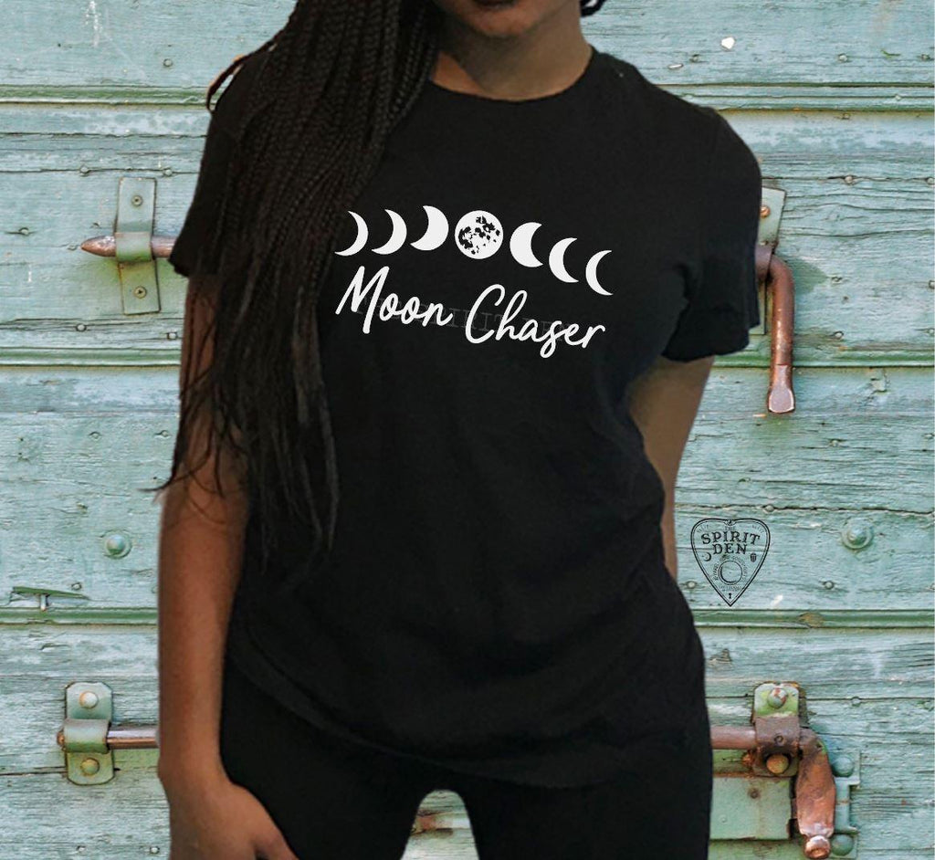 Moon Chaser Moon Phases T-Shirt