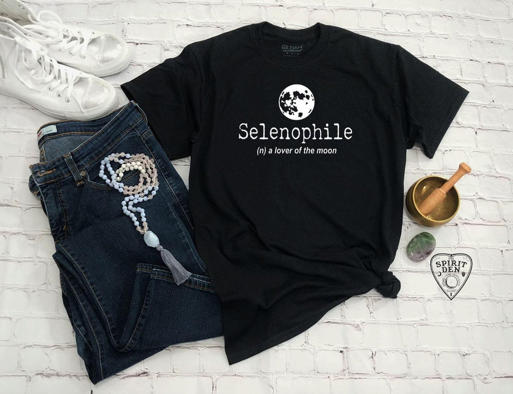 Selenophile Lover of the Moon T-Shirt