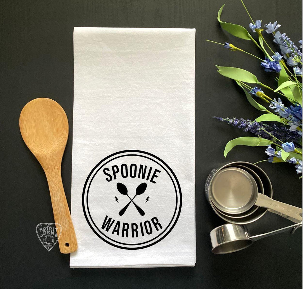 Spoonie Warrior Flour Sack Towel