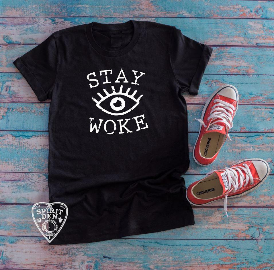 Stay Woke Third Eye T-Shirt