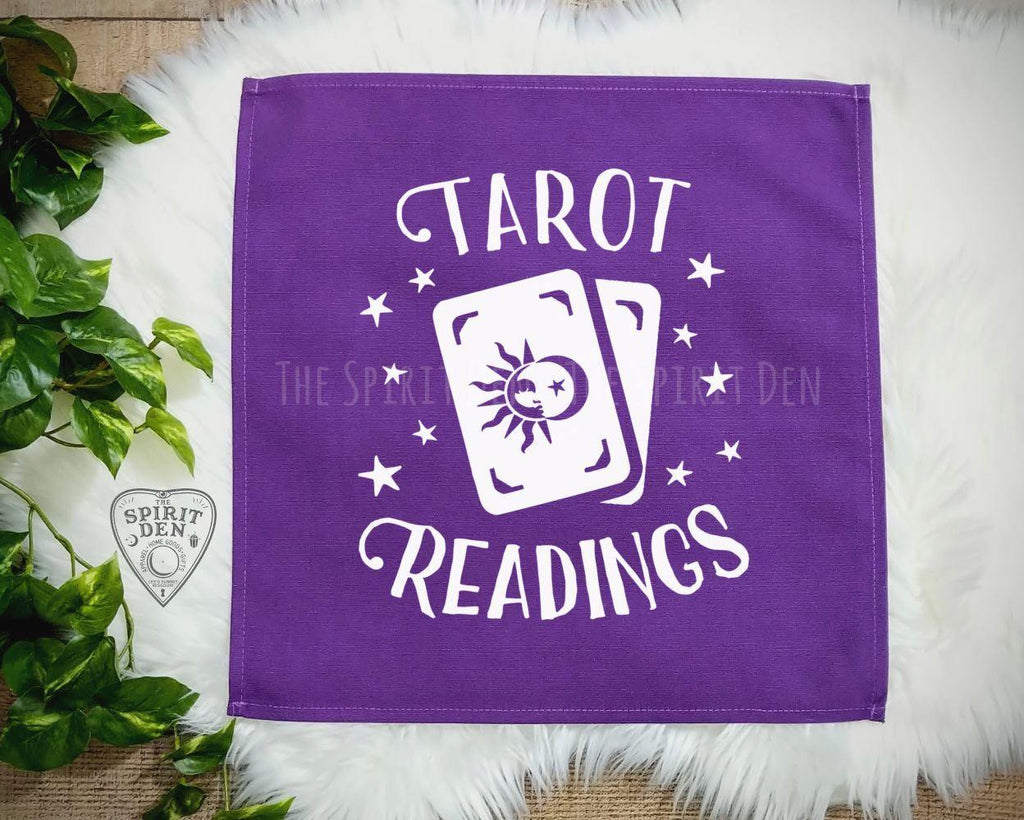 Tarot Readings Tarot Card Purple Cloth - The Spirit Den