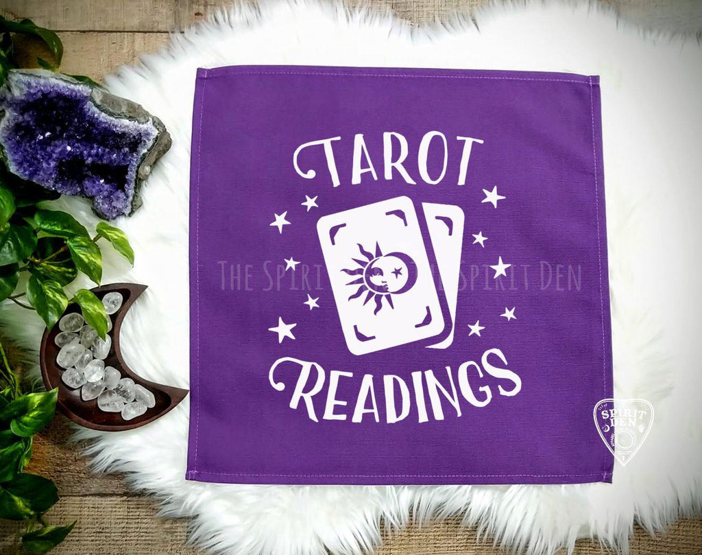 Tarot Readings Tarot Card Purple Cloth