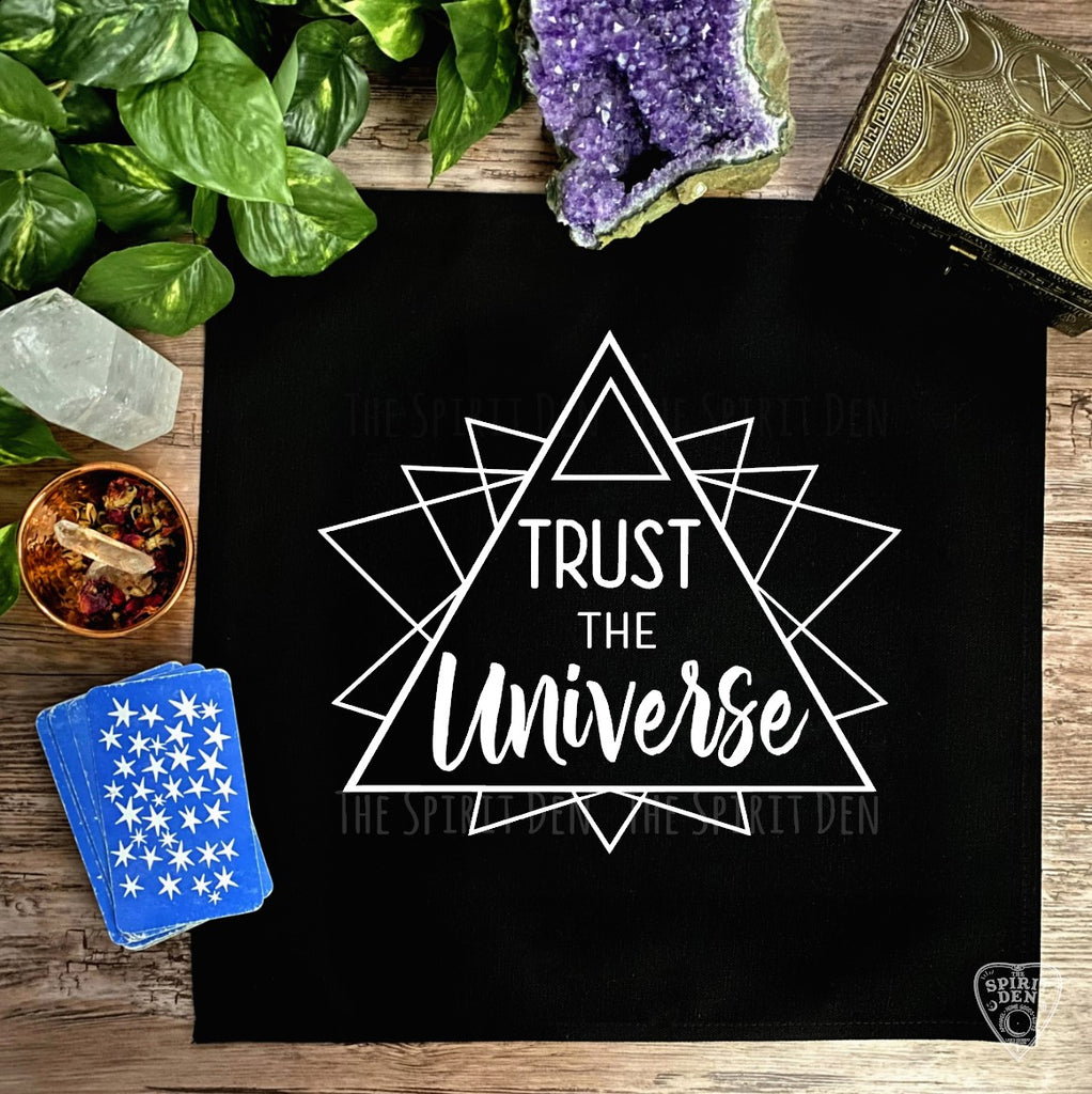 Trust The Universe Altar Cloth