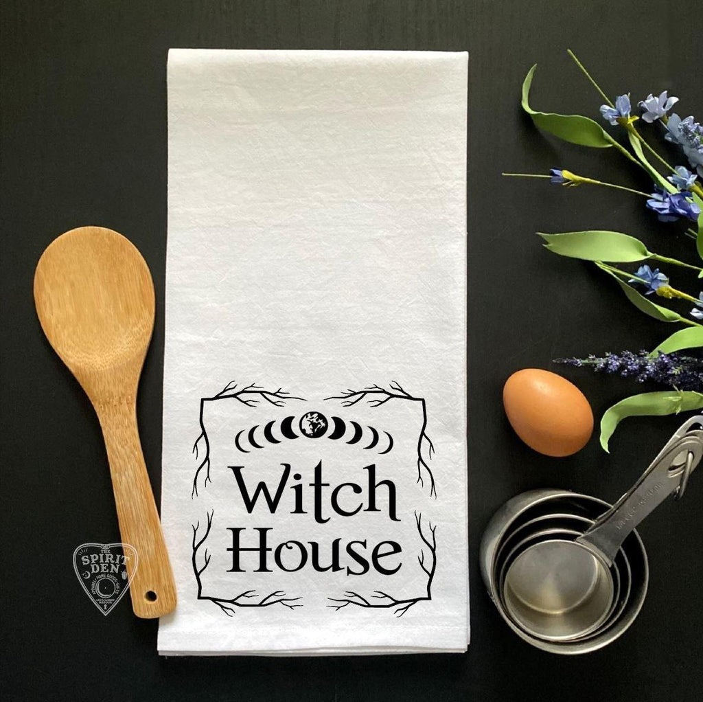 Witch House Flour Sack Towel
