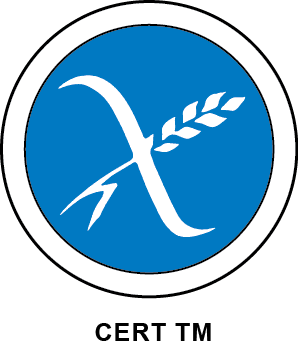 Coeliac New Zealand Blue Crossed Grain Logo