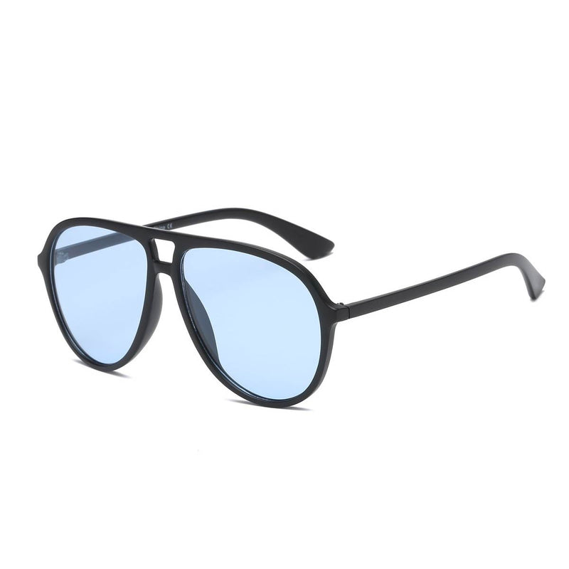 Curved Aviator Glider Shades