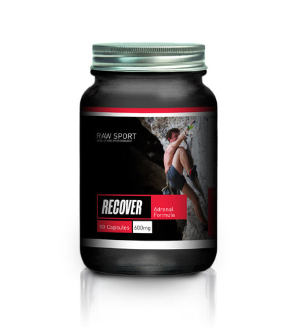 Adrenal stress formula recover 90 Capsules - Raw Sport