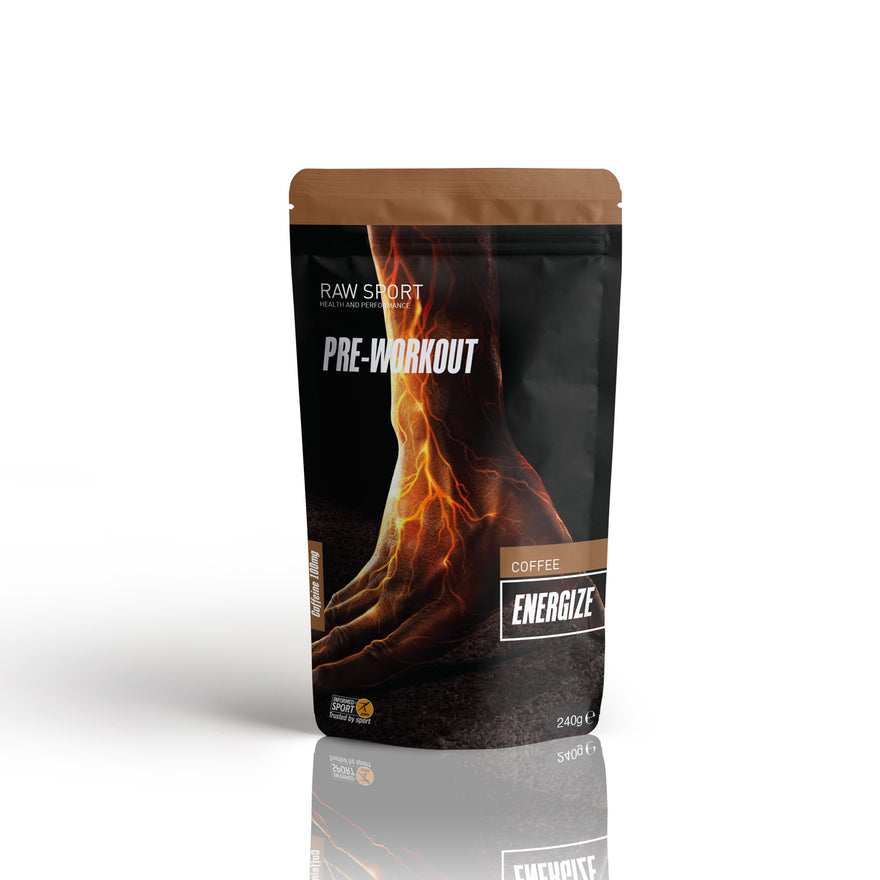 Pre Workout Energize Coffee - Raw Sport