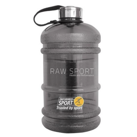 Raw sport informed sport (BPA free) 2,2- litre water bottle