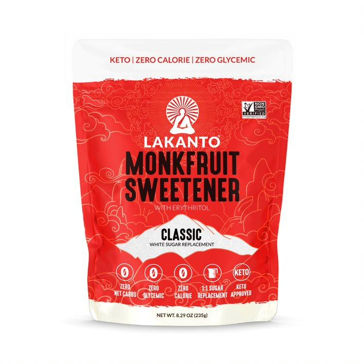 Lakanto, Monkfruit Sweetener with Erythritol, Classic