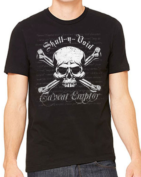 Skull n Void Black Mens Tee