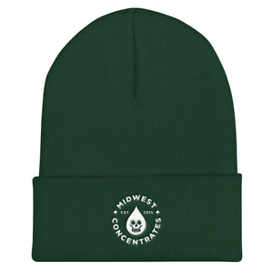 Midwest Concentrates Cuffed Beanie - Midwest Concentrates - Canna Clamp