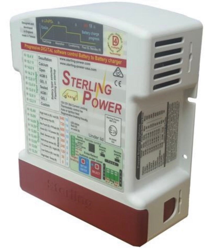 Sterling Battery to battery charger 12v/30A