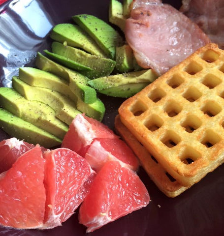Sunday Brunch with Grapefruit and Avocado