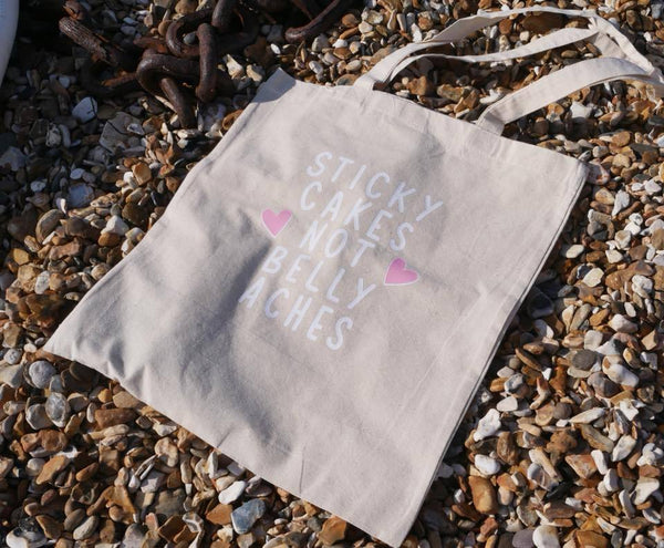 'Sticky Cakes' Tote Bag