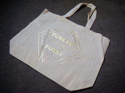 FTBF Logo Shopper - Gold Foil