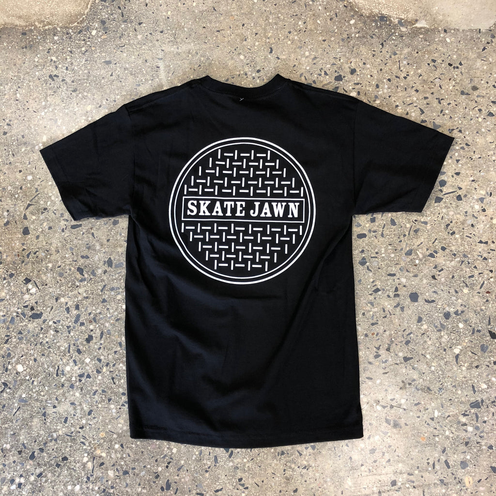 Sewer Cap Tee-Black