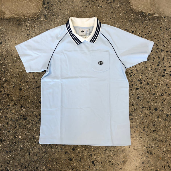 Mock Eye Jersey-Light Blue