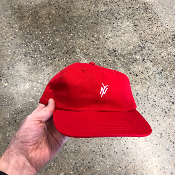 5B Monogram Cap-Red