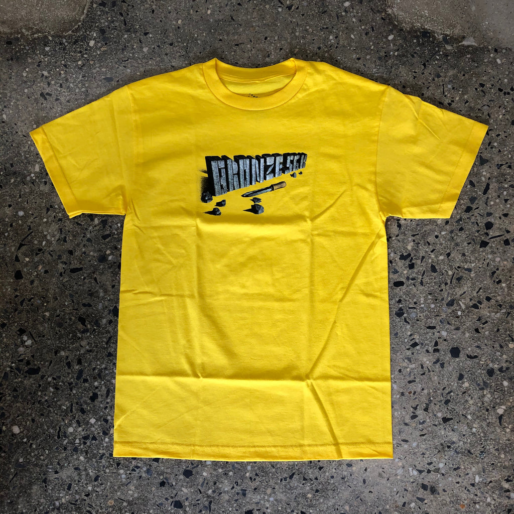 Chisel Tee-Yellow