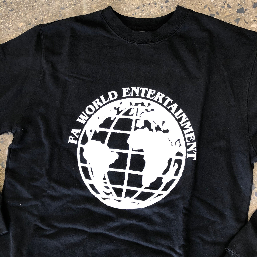 FA World Entertainment Crewneck-Black
